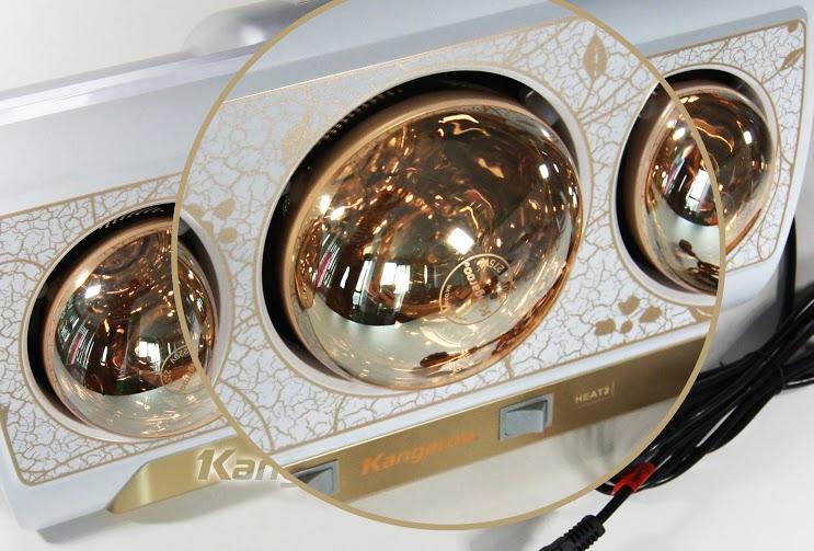 Đèn sưởi nhà tắm Kangaroo KG254N