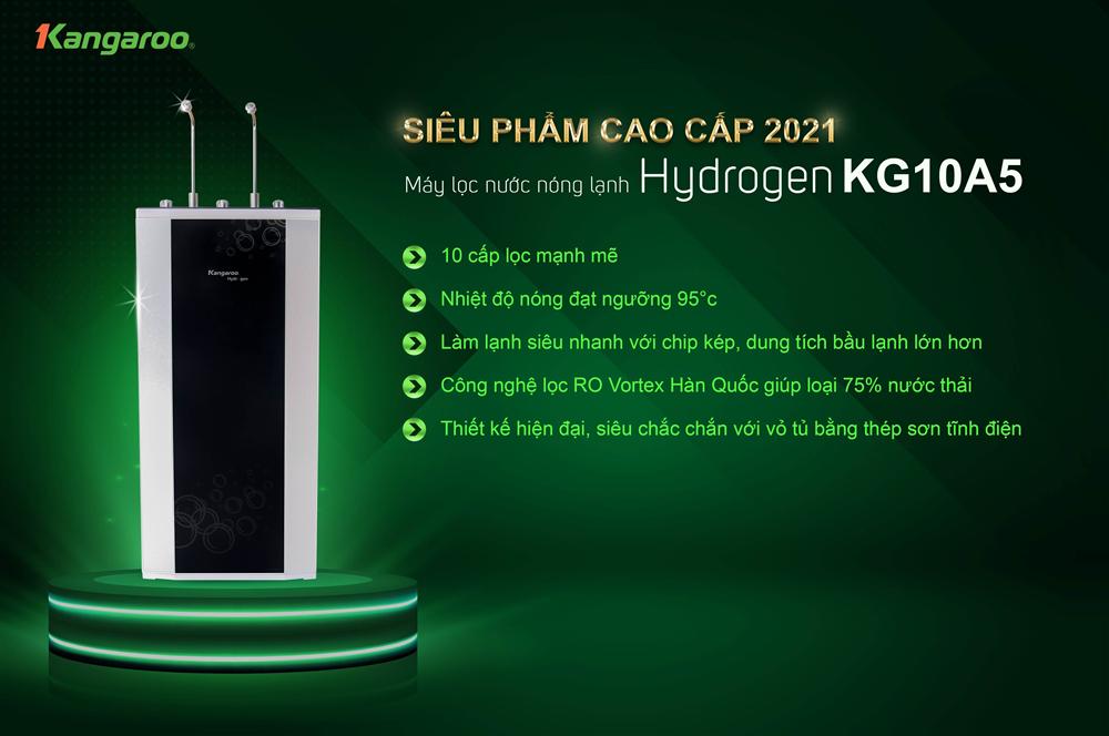 máy lọc nước hydrogen kangaroo kg10a5