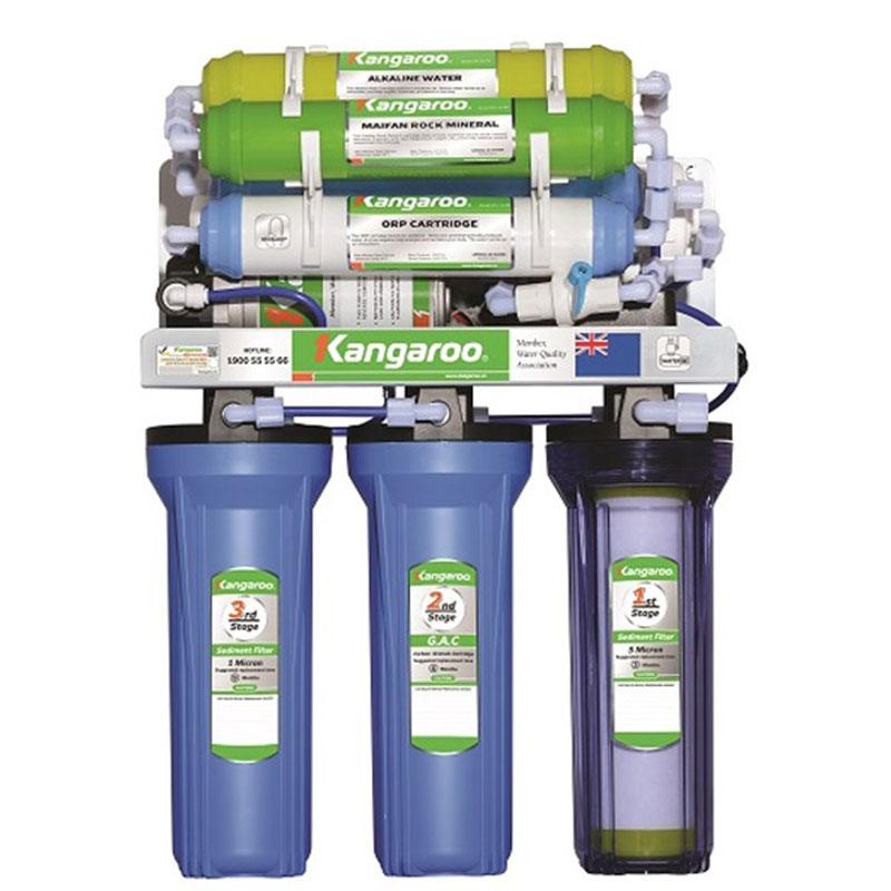 Máy lọc nước Kangaroo KG108W-KV-UV (Đèn UV diệt khuẩn)