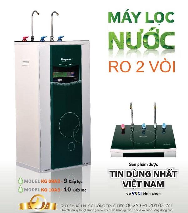 Máy lọc nước Kangaroo KG10A3 10 cấp lọc