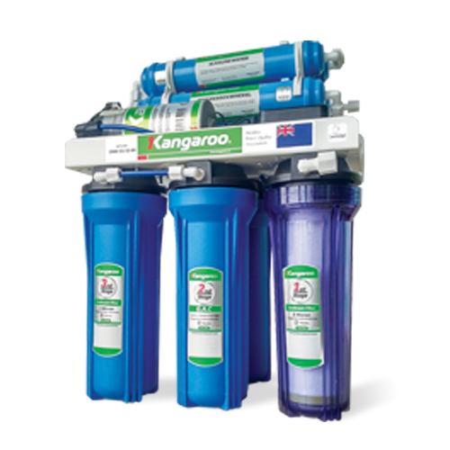 Máy lọc nước Kangaroo OMEGA+ KG02G4-KV-UV (Đèn UV diệt khuẩn)