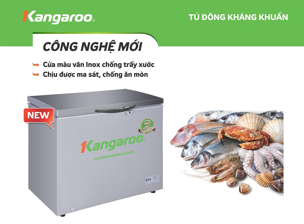 Tủ đông kháng khuẩn Kangaroo KG298VC1