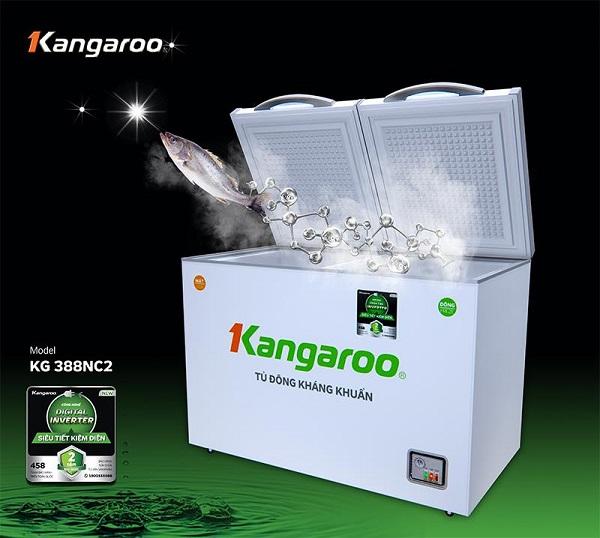 Tủ đông kháng khuẩn Kangaroo KG388NC2